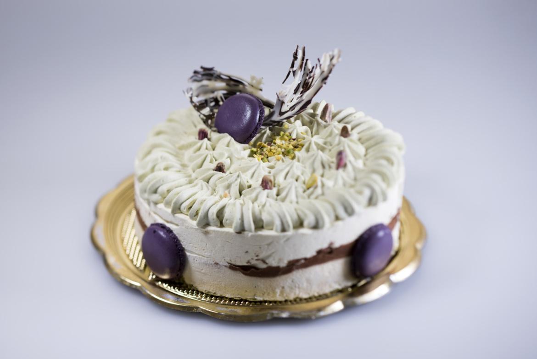 Torta cheesecake al pistacchio